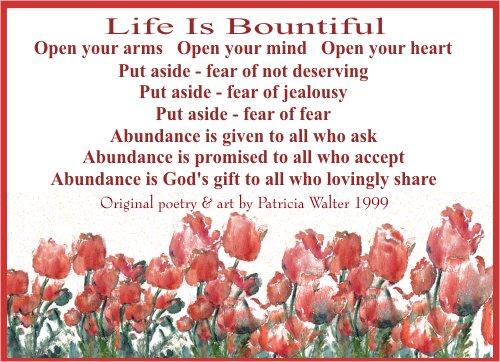 Life is Bountiful 1