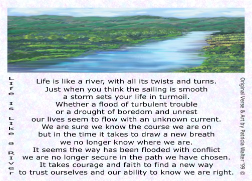 Life is Like a River 1
