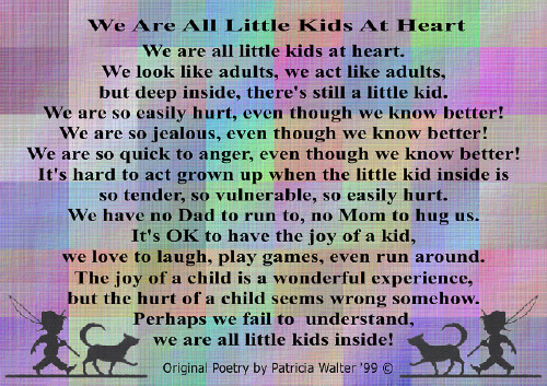 We Are All Little Kids at Heart 1