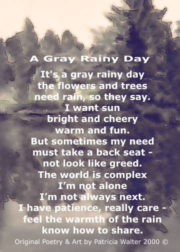 A Grey Rainy Day