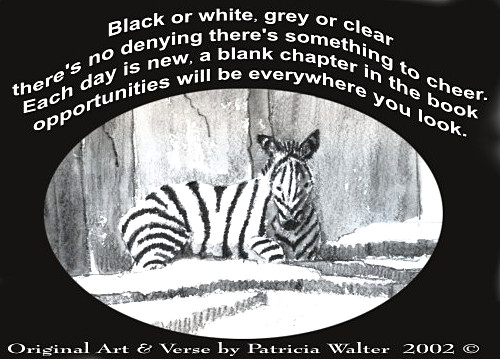 Each Day is New poem by Patricia Walter