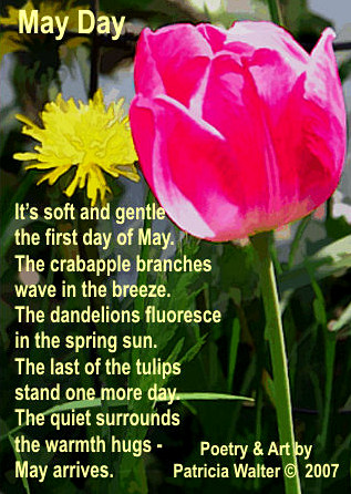 May Day poem by Patricia Walter