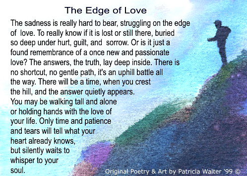 The Edge of Love by Patricia Walter