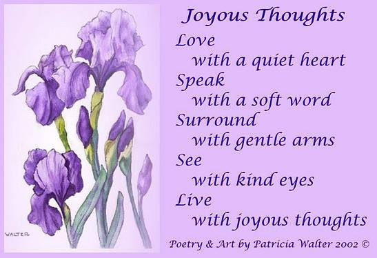 Welcome to A Poet's Corner Featuring Art and Poetry of Patricia Walter 1